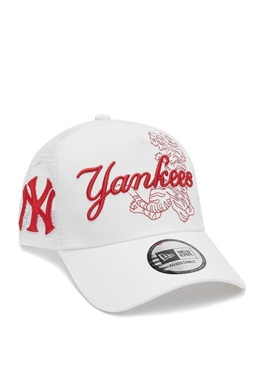 New Era New Era  Nakışlı Erkek Şapka 101644788 Beyaz